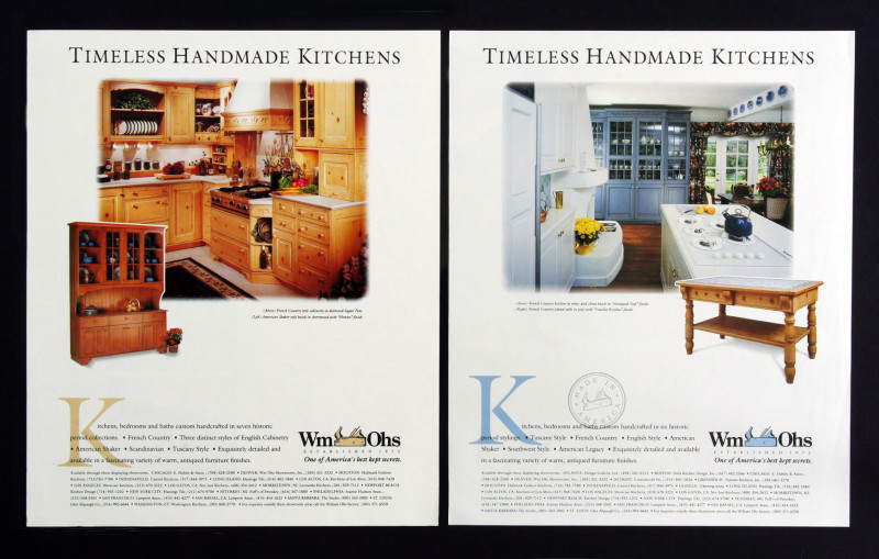 The Upscale Advertising Series We Created For Them Focuses On The Kitchensu0027  Quality, Style And Craftsmanship. Through Large, Beautiful Photography Of  Their ...